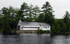 Stoney Lake island church!