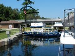 Buckhorn lock- Houseboat rentals!