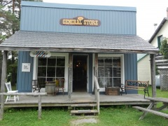 Settler's village, General store