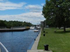 Swift Rapids lock approach
