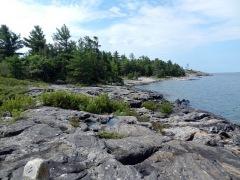 Wreck Island shoreline