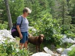 Hiking around Topaz