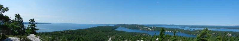 Vista from Casson Peak