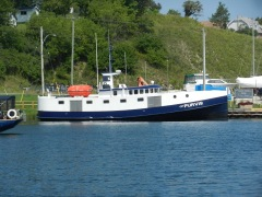 Typical Great Lakes fishing tug